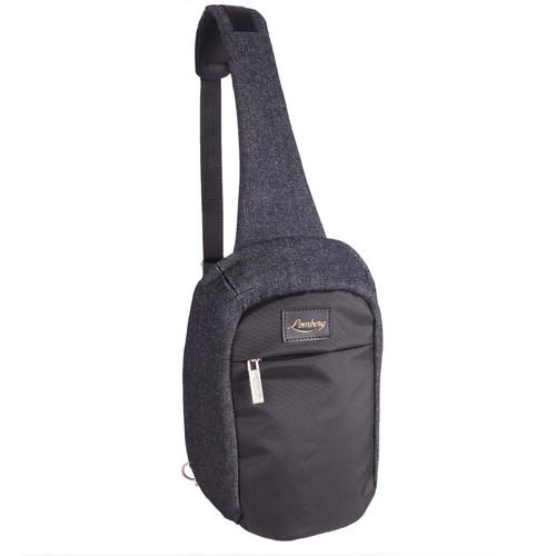 Foto Produk Lomberg Hazel Shoulder Black - Tas Punggung Denim - Hitam dari Lomberg Bags
