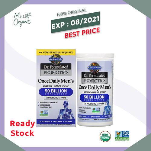 Foto Produk Garden of Life - Dr. Formulated Probiotics Once Daily Mens SHELF 30ct dari Mrs Organic