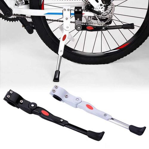 Foto Produk Standar Parkir Samping Sepeda MTB Road Bicycle 34.5-40cm - Putih dari givenmart