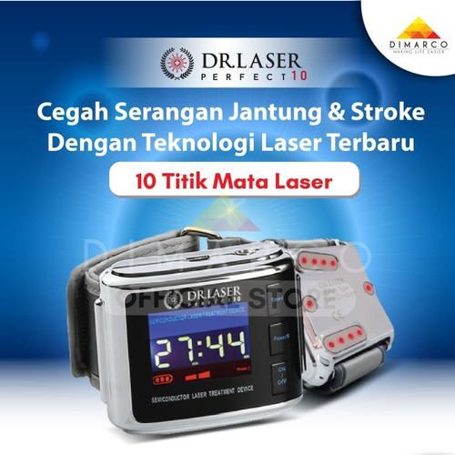 Foto Produk Dr. Laser perfect 10 jam jam kesehatan cegah kolesterol dan gula darah dari Dimarco Official Store