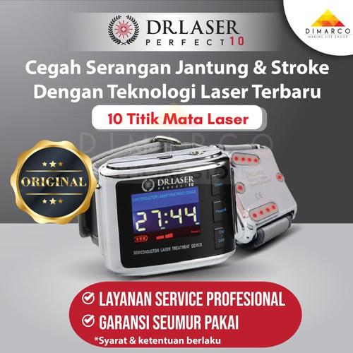 Foto Produk Dr. Laser perfect 10 original jam laser darah tinggi hipertensi dari Dimarco Official Store