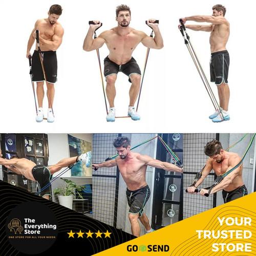 Foto Produk Set Tali Olahraga Pintu Serbaguna/ 11 set alat Fitness dan Gym Dirumah dari TheEverythingStore