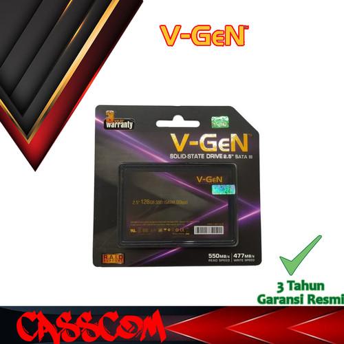 Foto Produk SSD Vgen 128GB ( Solite State Drive ) SATA 3 Resmi dari CassCom