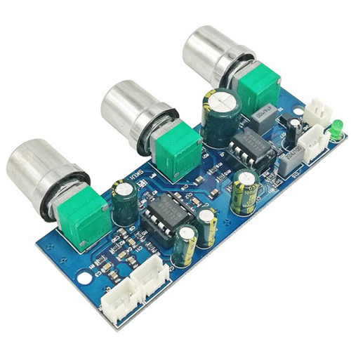 Foto Produk HIFi 2.1 Stereo+Subwoofer Pre-Amplifier Bass Tone Control LFE Filter dari mirorim