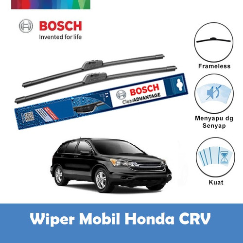 "Foto Produk Bosch Wiper Mobil Honda CRV 3rd Gen Frameless Advantage 26"" & 17"" dari BOSCH by Klik Onderdil"