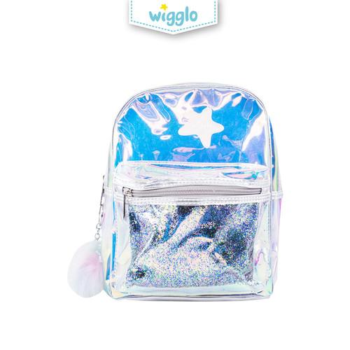 Foto Produk Wigglo Backpack Mika Hologram Silver dari Wigglo Indonesia