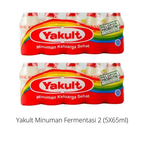 Foto Produk Bundling Minuman Sehat Yakult Minuman Fermentasi 5 X 65 ml dari Kyan Mart