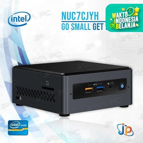 Foto Produk Intel Nuc Mini Pc NUC7CJYH Kit Barebone - Intel Celeron Quadcore J4005 dari Jaya PC