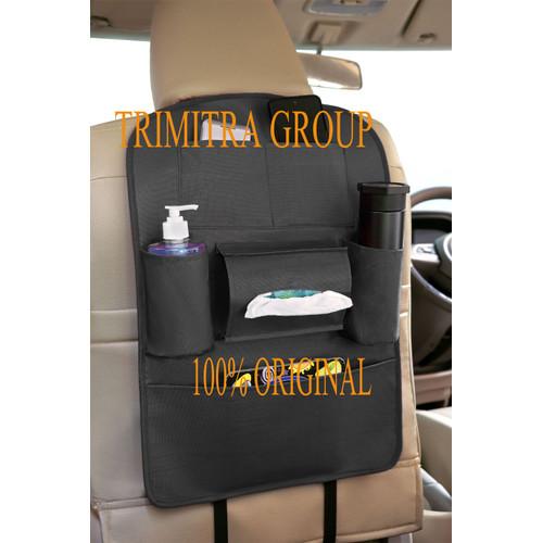 Foto Produk Carzo Smart Seat Car Seat Organizer Tas Belakang Jok Mobil Multifungsi - Hitam dari Trimitra Group