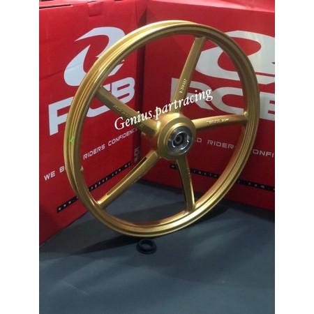 Foto Produk Velg Racing RCB Depan Mio - Jupiter Z - Vega R Sp 522 Gold 17 X 120 dari genius.partracing