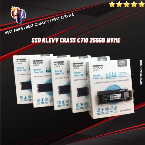 Foto Produk KLEVV CRAS C710 256GB SSD M.2 2280 NVME PCLE GEN3 X4 dari QUEENPROCESSOR