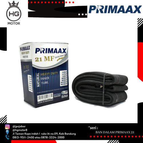 Foto Produk BAN DALAM TRAIL PRIMAAX 80 100 RING 21 HEAVY DUTY TEBAL PRIMAX dari HG MOTOR