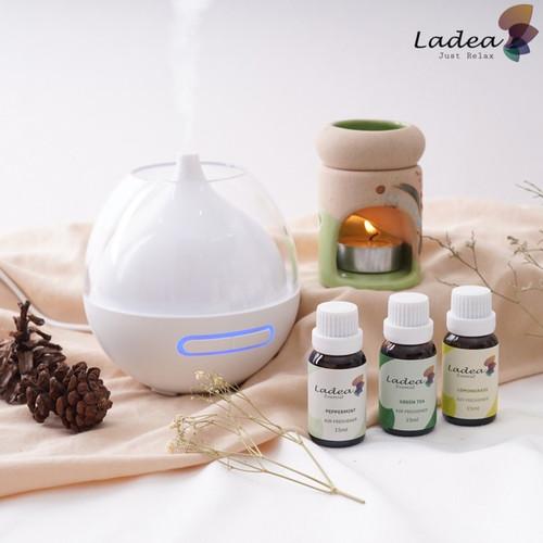 Foto Produk Inone Aromatherapy Essential Oil Humidifier Diffuser Pengharum ruangan - green tea dari Inone Official Shop