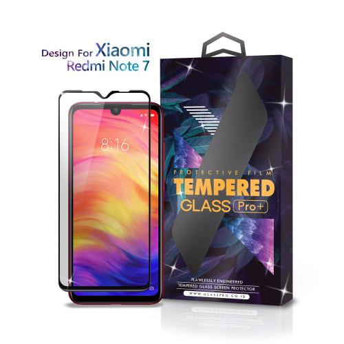 Foto Produk Tempered Glass Xiaomi Redmi Note 7 Full Cover Black - Glass Pro dari Glass Pro Indonesia