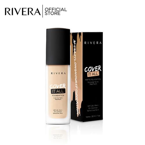 Foto Produk Rivera Cover It All Foundation 02 Ivory Honey dari Rivera Cosmetics
