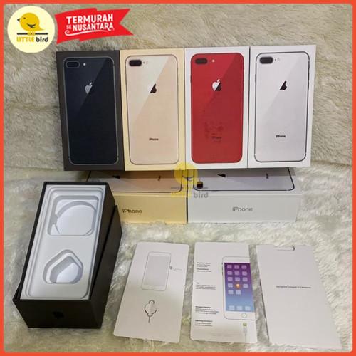 Foto Produk DUS KOTAK KOSONG IPHONE 8 & 8 PLUS (Tidak Fullset) Terima GROSIRAN - Orange dari Little.bird