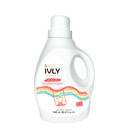 Foto Produk Ivly Nature - Baby Laundry Detergent 1800ml - Lotus Flower | Bamboo dari Ivly Nature
