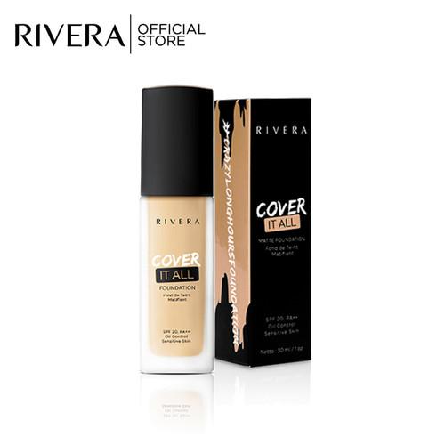Foto Produk Rivera Cover It All Foundation 03 Classic Beige dari Rivera Cosmetics