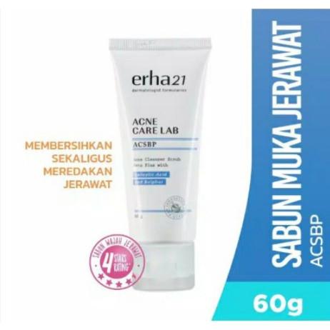 Foto Produk Erha Acne Cleanser Beta Scrub Plus (ACSBP ) Sabun Wajah Kulit Jerawat dari Fadiyah Shop