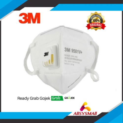 Foto Produk Masker 3M Original Model 9501V+ Anti Virus dari ALLSYSMALL