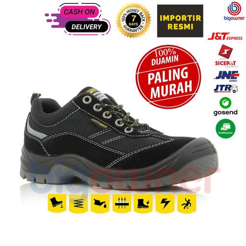 Foto Produk Sepatu Safety Jogger Gobi - Black - 38 dari Big Owner Official