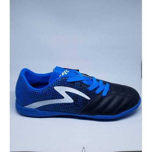 Foto Produk Sepatu Olahraga Futsal Specs Equinox In 400772 Black/Tulip Blue/White - 42 dari warungkepo.sports