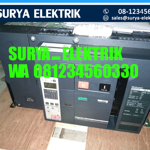 Foto Produk ACB Schneider NW 25 NW25H1 NW25 H1 2500A 2500 A Amper 4P 4Pole 65kA dari SURYA-ELEKTRIK