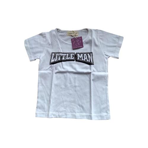 Foto Produk Lumik Little Man White Tee Special Store - 1-2 tahun dari Lumik Baby Shop