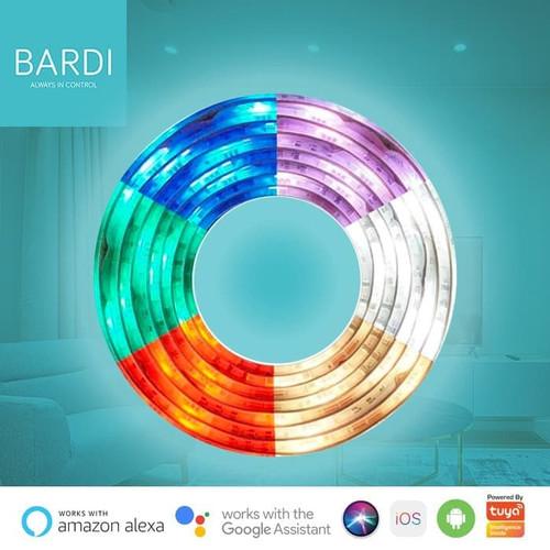 Foto Produk Lampu LED Strip RGBWW Wifi 2m - control by app / google home / alexa dari Bardi Official Store