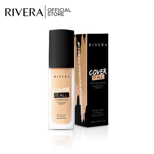 Foto Produk Rivera Cover It All Foundation 04 Natural dari Rivera Cosmetics
