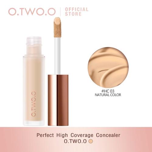 Foto Produk O.TWO.O Krim Concealer High Coverage Liquid Concealer Cair Anti Air 4 dari Bursa Cosmetik Murah
