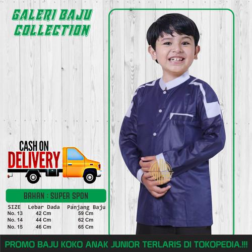 Foto Produk Baju Koko Anak Laki Laki Baju Koko Muslim Anak Navy Usia 10-13 Tahun - 10-11 tahun dari Gerai Baju Collection