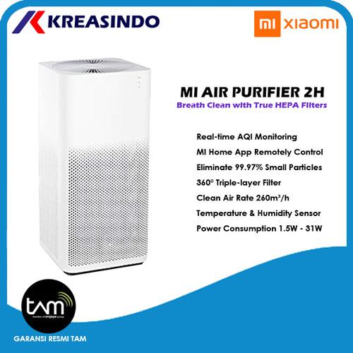 Foto Produk Xiaomi Mi Air Purifier 2H Penjernih Udara Garansi Resmi TAM dari Kreasindo Online