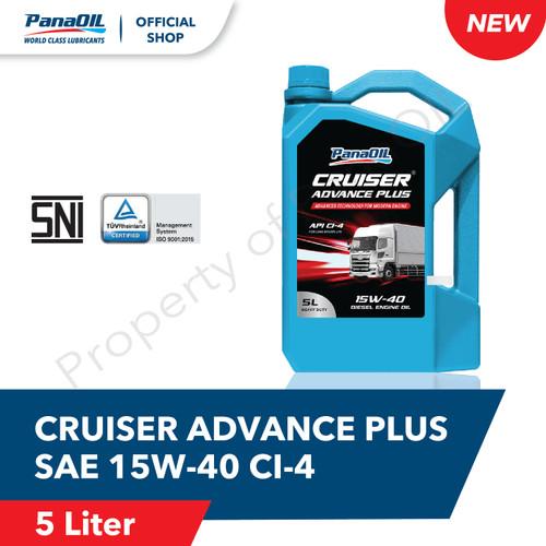 Foto Produk PANAOIL CRUISER ADVANCE PLUS SAE 15W-40 | 5 Liter - Oli Mesin Diesel dari PanaOIL Official Store