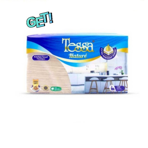 Foto Produk Tissue Tessa Nature Kitchen Towel dari snack_it