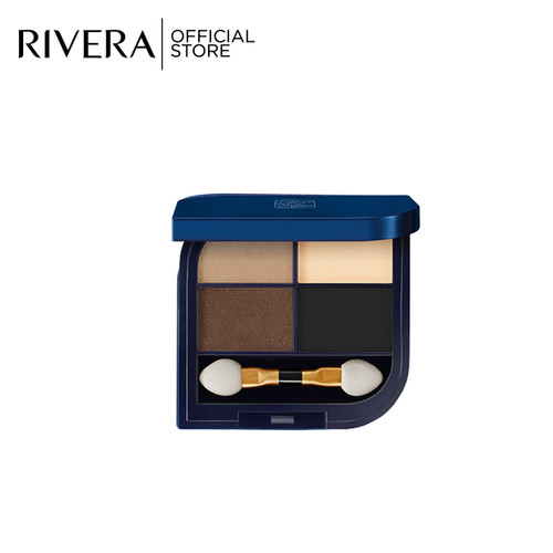 Foto Produk Rivera Shinning Eye Shadow 13 Soft Gold dari Rivera Cosmetics