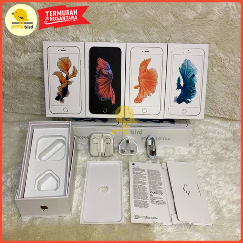 Foto Produk Dus Kotak Fullset iPhone 6s & 6s Plus Terima Grosiran / Reseller - Abu-abu dari Little.bird