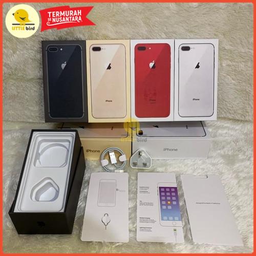 Foto Produk Dus Kotak iPhone 8 & 8 Plus Charger & Kabel Ori OEM Terima Grosiran - Abu-abu dari Little.bird