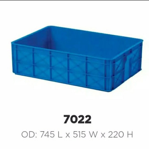 Foto Produk Box Container Rabbit 7022 74x51x22 Keranjang Industri Bak Kolam Ikan dari laulau