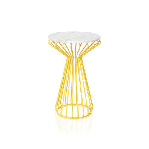 Foto Produk VIVERE Daisy Side Table Marble (ex. display) dari VIVERE Collection