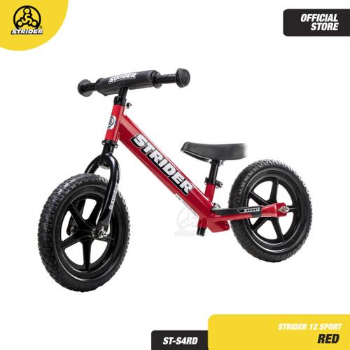 Foto Produk STRIDER BIKE 12 SPORT RED ST-S4RD - BALANCE BIKE dari Strider Bikes Indonesia