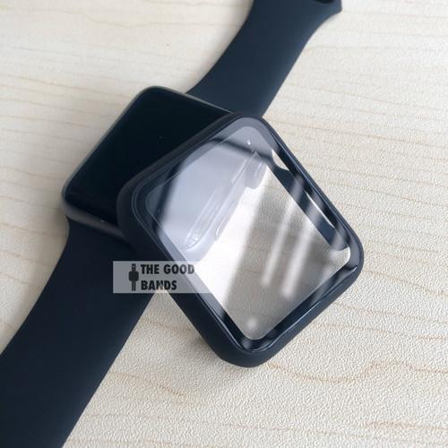 Foto Produk Case Apple Watch 6 SE Casing & Glass Full Cover TG Hard 40mm 44mm dari The Good Bands