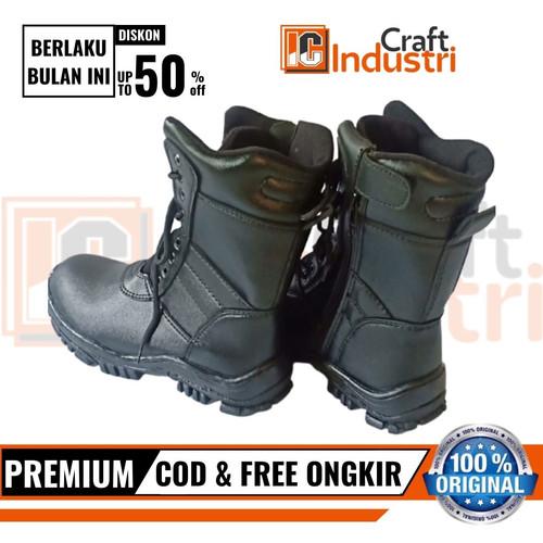 Foto Produk Sepatu PDL TNI Banser, Polisi, Security - Hitam, 39 dari Industri Craft CV