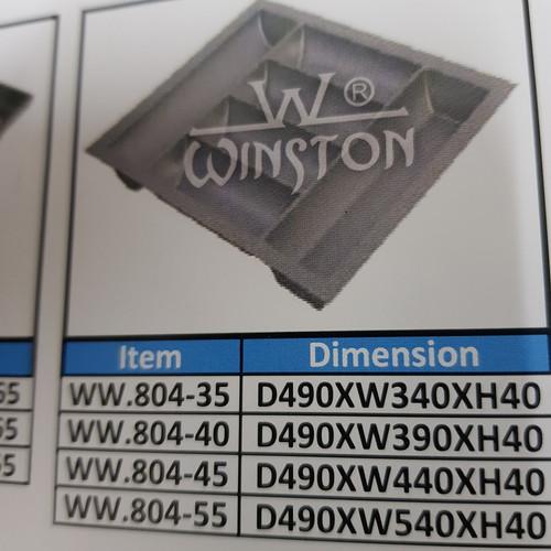 Foto Produk Rak Sendok Plastik Laci Kabinet for Kitchen Set 45 cm dari WINSTON SUKSES ABADI
