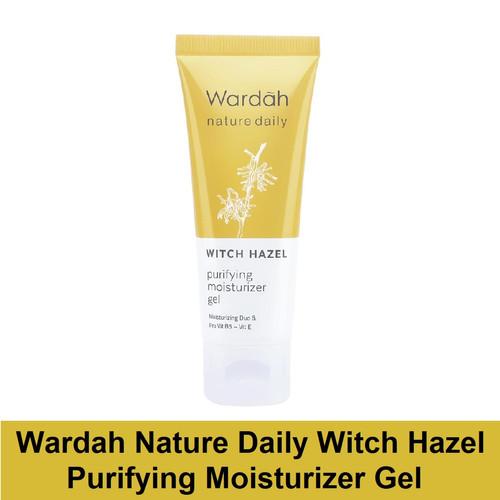 Foto Produk Wardah Nature Daily Witch Hazel Purifying Moisturizer Gel dari Debelleza Shop