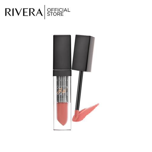 Foto Produk Rivera Gotta Be Matte Lip Cream 310 Coral Nude dari Rivera Cosmetics
