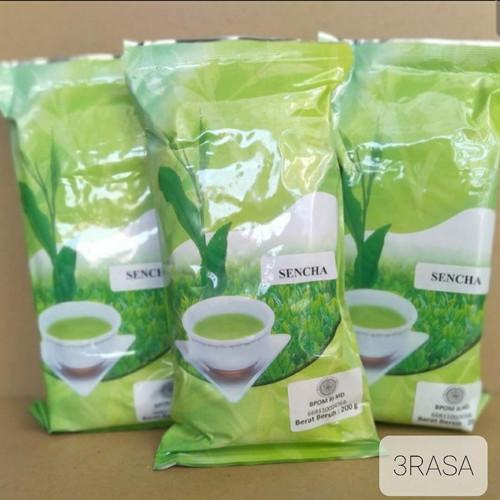 Foto Produk Sencha Ocha Japanese Green Tea Teh Hijau 200gr dari Toko 3 Rasa