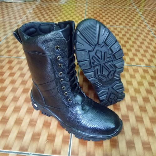 Foto Produk Sepatu pdl resteng tali pantopel vantovel TNI - Hitam, 41 dari lancar jaya abadi 2