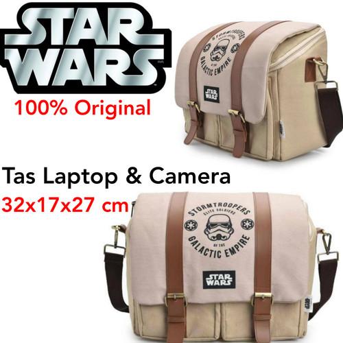 Foto Produk Tas Camera DSLR Star wars Storm Trooper Camera Bag Slempang Mirrorless dari Laku8pedia
