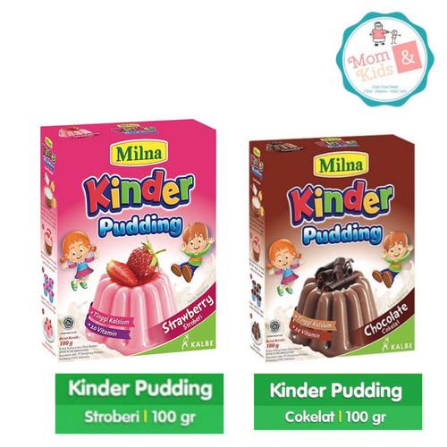 Foto Produk Milna Kinder Pudding 100 gr/ Milna Toddler Pudding / Milna Puding - Coklat dari Toko Susu Mom n Kids